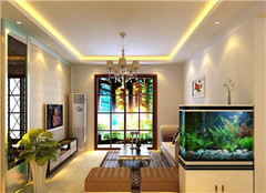 客厅摆放鱼缸的风水禁忌 家里鱼缸养几条鱼最好