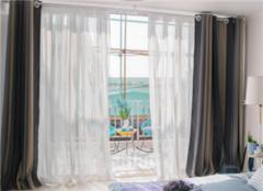 阳台窗帘轨道有几种 阳台窗帘轨道好还是罗马杆好
