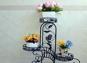铁艺花架子怎么制作 铁艺花架子尺寸规格