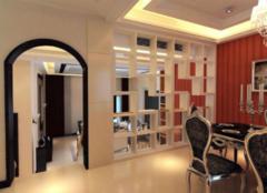 客厅与餐厅隔断装修方法 客厅与餐厅隔断墙样式