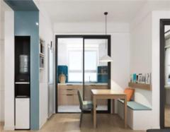 厨房玻璃门透明好还是磨砂好 厨房玻璃推拉门尺寸