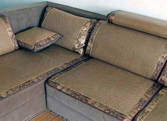 夏季沙发凉席垫什么材质好 凉席坐垫怎么清洗