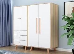 对开门衣柜尺寸规格 双门衣柜安装步骤