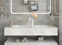 卫生间洗手台用什么材料好 卫生间台上盆好还是台下盆好