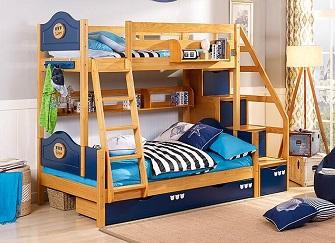实木双层床哪个品牌好 实木双层床的价格