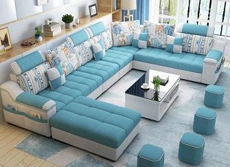 客厅沙发材质分类 客厅沙发尺寸大小