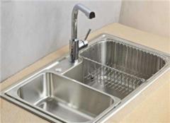 家用厨房水槽哪个品牌好 厨房水槽多大尺寸合适