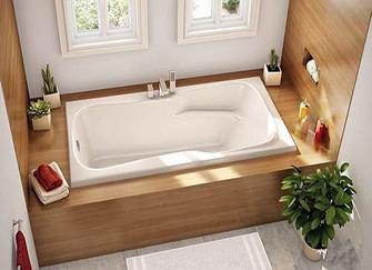 卫生间浴缸的尺寸是多少 怎样选择适合自己的浴缸尺寸
