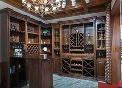 定制酒柜厚度一般多少 定制酒柜多少錢一平米