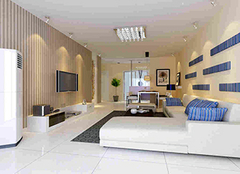 客厅白色地砖好看吗 客厅用什么颜色地板砖