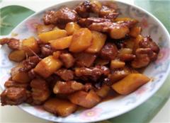 红烧肉的做法 红烧肉炖土豆小窍门