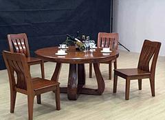 实木餐桌椅多少钱 实木餐桌椅品牌十大排名