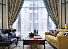 客厅窗帘颜色风水禁忌 客厅窗帘什么颜色聚财 客厅什么颜色窗帘高档