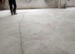 水泥地面起砂原因 水泥地面起砂怎么处理解决 水泥地面起砂用什么材料处理