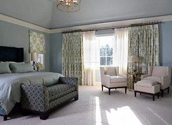 卧室窗帘怎么搭配颜色 卧室窗帘的选择与搭配 卧室窗帘颜色禁忌