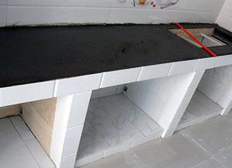 砖砌橱柜好不好 砖砌橱柜好还是整体橱柜好 砖砌橱柜施工步骤