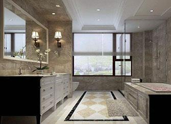 卫生间用什么瓷砖好看 卫生间最流行地砖颜色 卫生间瓷砖发黄发黑怎么洗干净