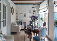 地中海风格餐厅特点 地中海风格餐厅设计说明 地中海风格餐厅装修效果案例