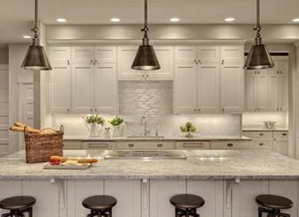 暗厨房怎么改明厨房 厨房光线暗怎么装修 厨房没有窗户怎么装修