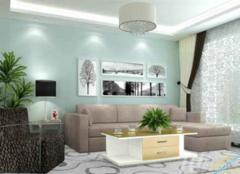 客厅油漆喷的好还是刷的好 客厅油漆什么颜色好看 客厅油漆可以有两种颜色吗