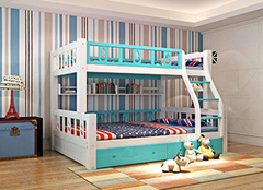 儿童上下床什么牌子比较好 儿童上下床什么材质的结实 儿童上下床尺寸标准是多少