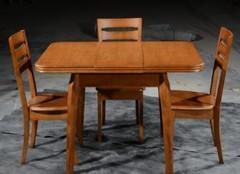 折疊餐桌怎么打開 長方形折疊餐桌怎么伸縮