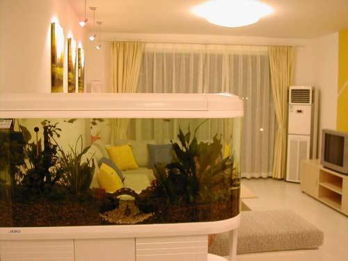 贵阳装修中客厅鱼缸该如何摆放?