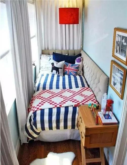 如何把阳台设计成床?