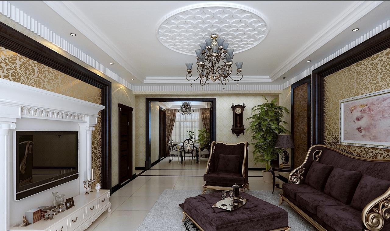 济南三居室装修谁有好的效果图啊?