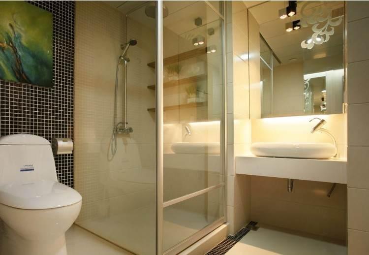谁家洗手间装修好了的?给我看看洗手间装修效果图!