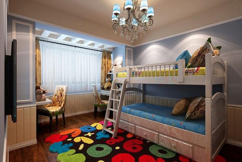 谁有儿童房装修效果图?