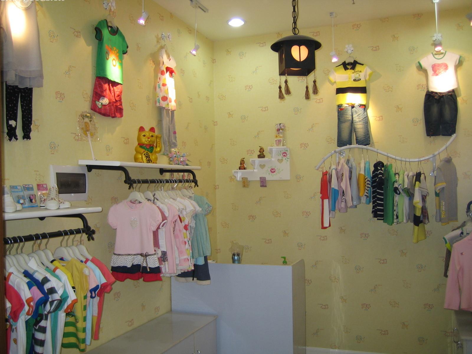 求杭州童装店装修效果图