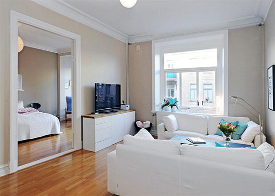 谁有单身公寓装修效果图给我看看?