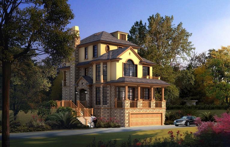 美式别墅好看吗?