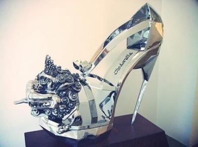玻璃鞋真的可以穿吗?