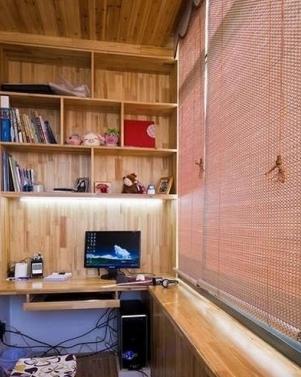 苏州阳台怎么装修成书房?