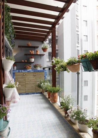 阳台花园设计,带来诗意享受!