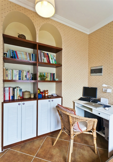 书柜装修效果图,总有一款适合你!