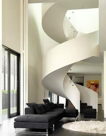 旋转楼梯设计图,你心动了吗?
