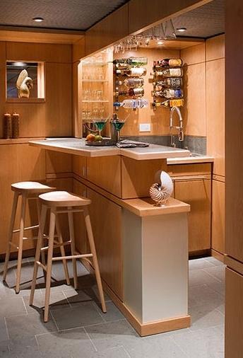 家庭吧台装修效果图,总有一款你喜欢!