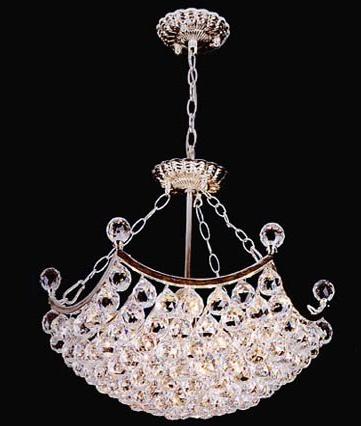 客厅里面装水晶灯怎么样?