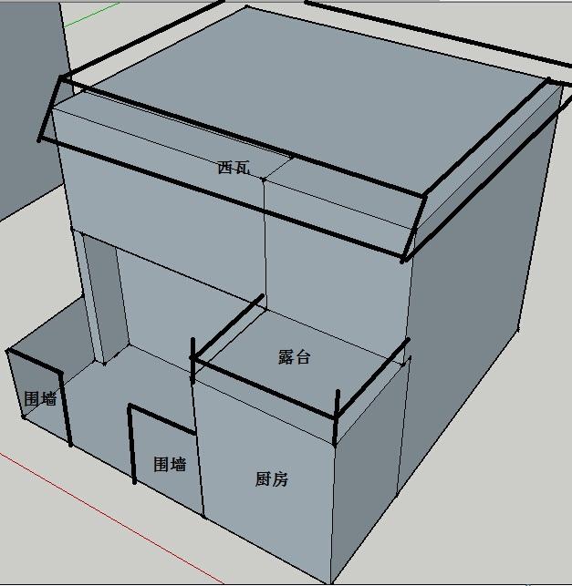 别墅外墙砖应该如何搭配,具体造型如下图,请大师们指点