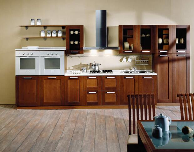 厨房是铺地板好还是瓷砖好?