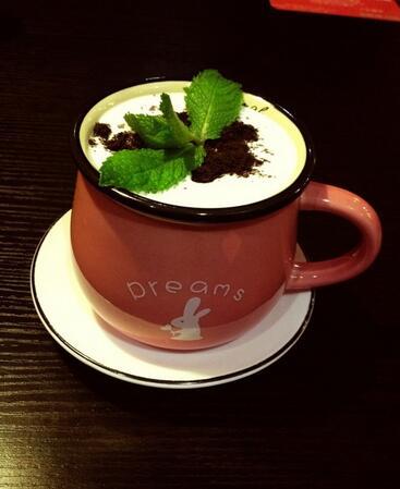 盆栽奶茶好喝吗?