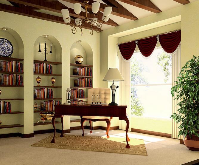 书房里面的书架怎么买?