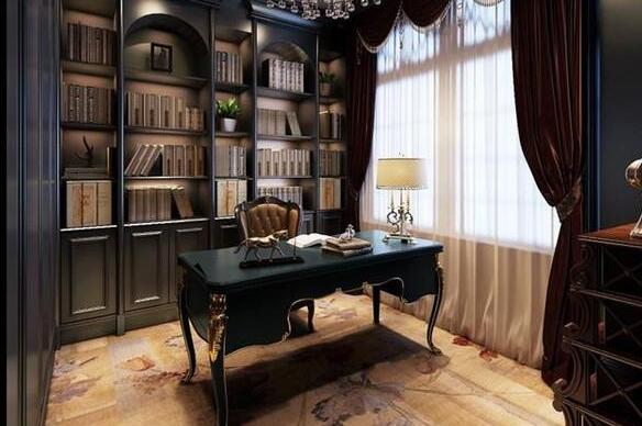 别墅的书房设计要注意什么?