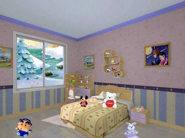 儿童房该选用什么颜色?