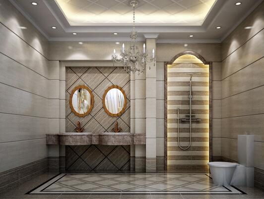 卫生间的瓷砖分类。