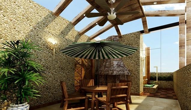 怎样设计露天阳台?