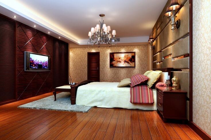 卧室的照明灯具要怎么安装?